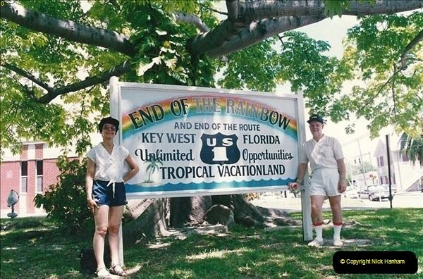 1991-07-16 to 19 The Keyes & Key West, Florida.  (20)032