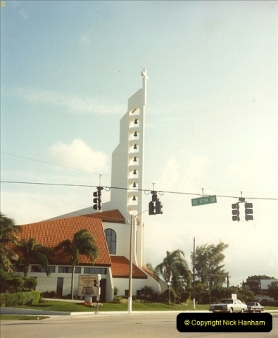 1991-11-26 Route 1 to Key West, Florida.  (3)163