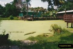 1991-07-21 Gator Jungle, Plant City, Florida.  (10)087