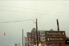 1991-12-03 Via Georgia to Florida.  (2)249