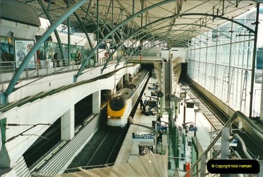 Via Euro Tunnel 2001 and 2002