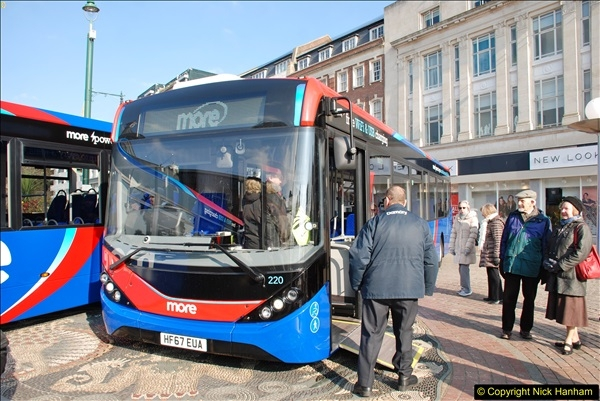 2018-02-23 Bournemouth Square and NEW W&D buses.  (17)017