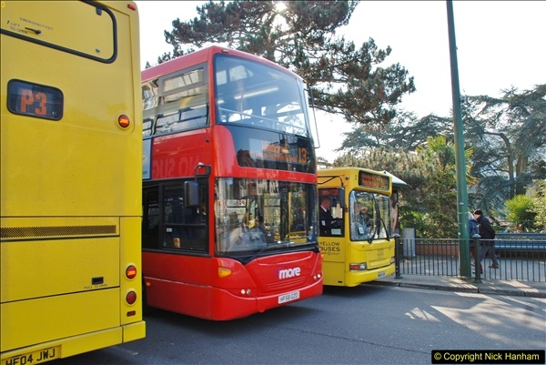 2018-02-23 Bournemouth Square and NEW W&D buses.  (36)036