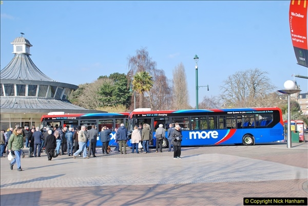2018-02-23 Bournemouth Square and NEW W&D buses.  (7)007