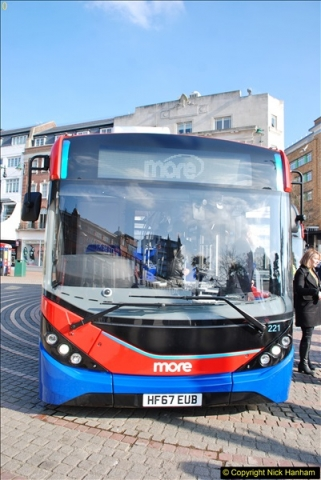 2018-02-23 Bournemouth Square and NEW W&D buses.  (9)009