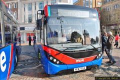 2018-02-23 Bournemouth Square and NEW W&D buses.  (33)033