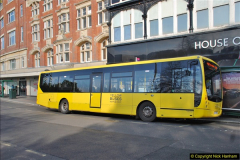 2018-02-23 Bournemouth Square and NEW W&D buses.  (42)042