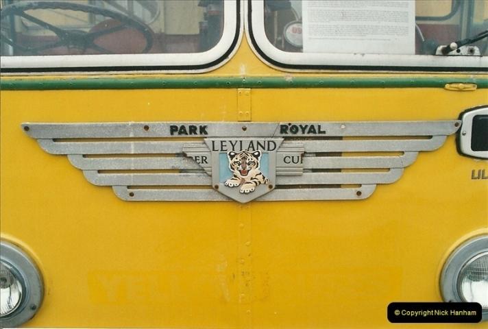 2002-06-30. 100 Years of Yellow Buses Open Day, Mallard Road Depot. Bournemouth, Dorset.    (18)033