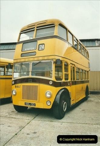2002-06-30. 100 Years of Yellow Buses Open Day, Mallard Road Depot. Bournemouth, Dorset.    (19)034