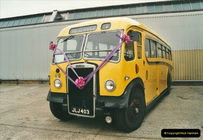 2002-06-30. 100 Years of Yellow Buses Open Day, Mallard Road Depot. Bournemouth, Dorset.    (21)036