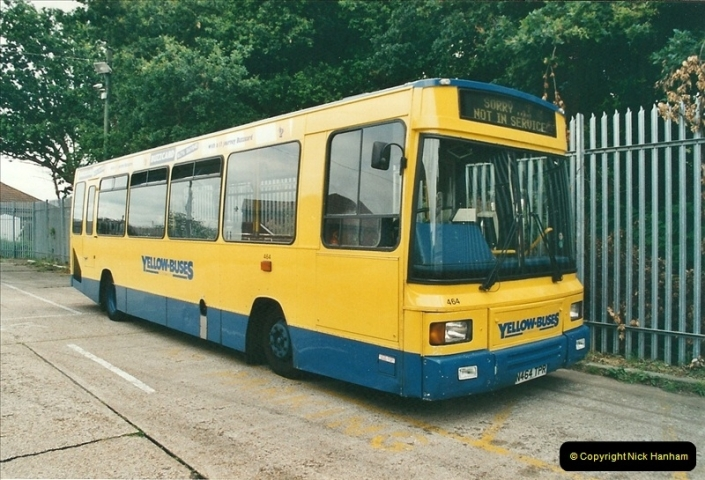 2002-06-30. 100 Years of Yellow Buses Open Day, Mallard Road Depot. Bournemouth, Dorset.    (28)043