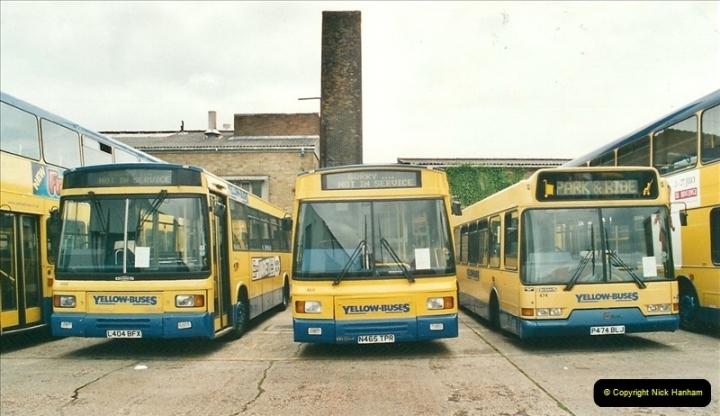 2002-06-30. 100 Years of Yellow Buses Open Day, Mallard Road Depot. Bournemouth, Dorset.    (33)048