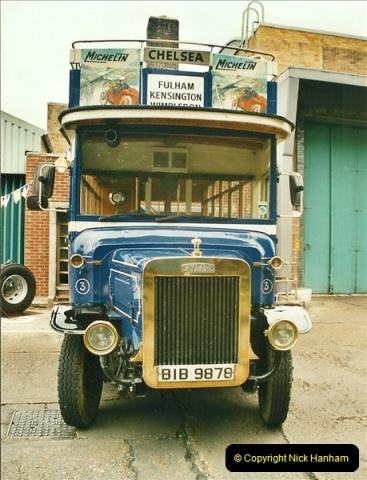 2002-06-30. 100 Years of Yellow Buses Open Day, Mallard Road Depot. Bournemouth, Dorset.    (50)065