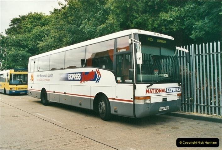 2002-06-30. 100 Years of Yellow Buses Open Day, Mallard Road Depot. Bournemouth, Dorset.    (53)068