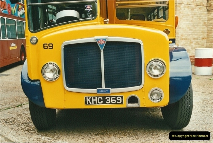 2002-06-30. 100 Years of Yellow Buses Open Day, Mallard Road Depot. Bournemouth, Dorset.    (58)073