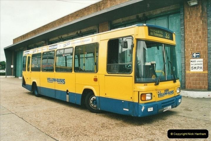 2002-06-30. 100 Years of Yellow Buses Open Day, Mallard Road Depot. Bournemouth, Dorset.    (6)021