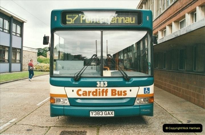 2002-06-30. 100 Years of Yellow Buses Open Day, Mallard Road Depot. Bournemouth, Dorset.    (72)087
