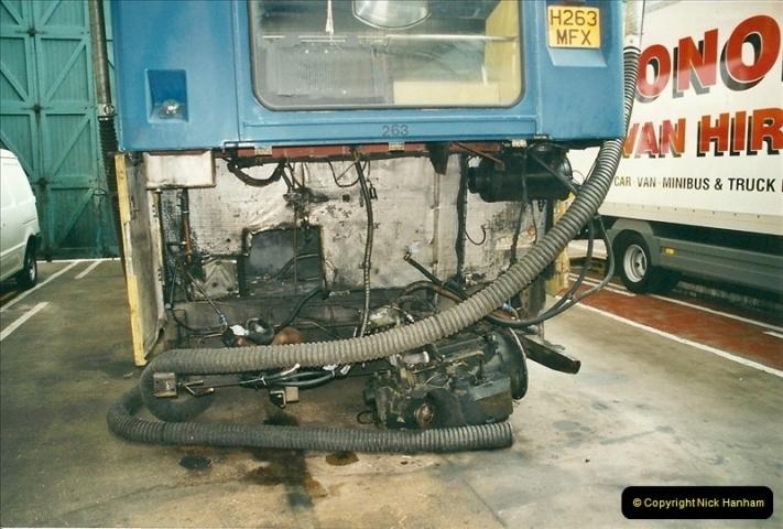 2002-06-30. 100 Years of Yellow Buses Open Day, Mallard Road Depot. Bournemouth, Dorset.    (78)093