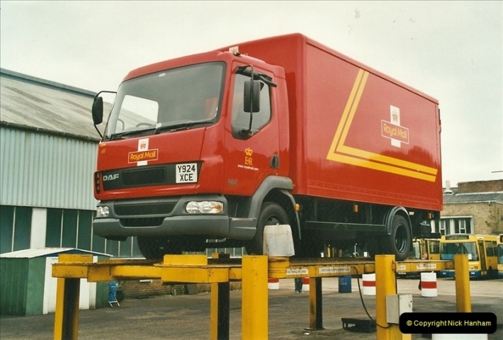 2002-06-30. 100 Years of Yellow Buses Open Day, Mallard Road Depot. Bournemouth, Dorset.    (81)096