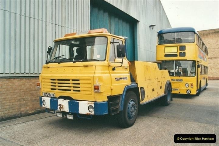 2002-06-30. 100 Years of Yellow Buses Open Day, Mallard Road Depot. Bournemouth, Dorset.    (87)102