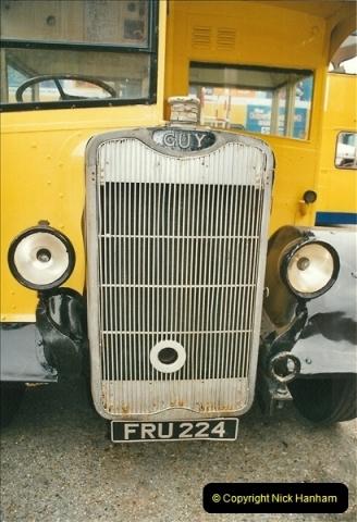 2002-06-30. 100 Years of Yellow Buses Open Day, Mallard Road Depot. Bournemouth, Dorset.    (9)024
