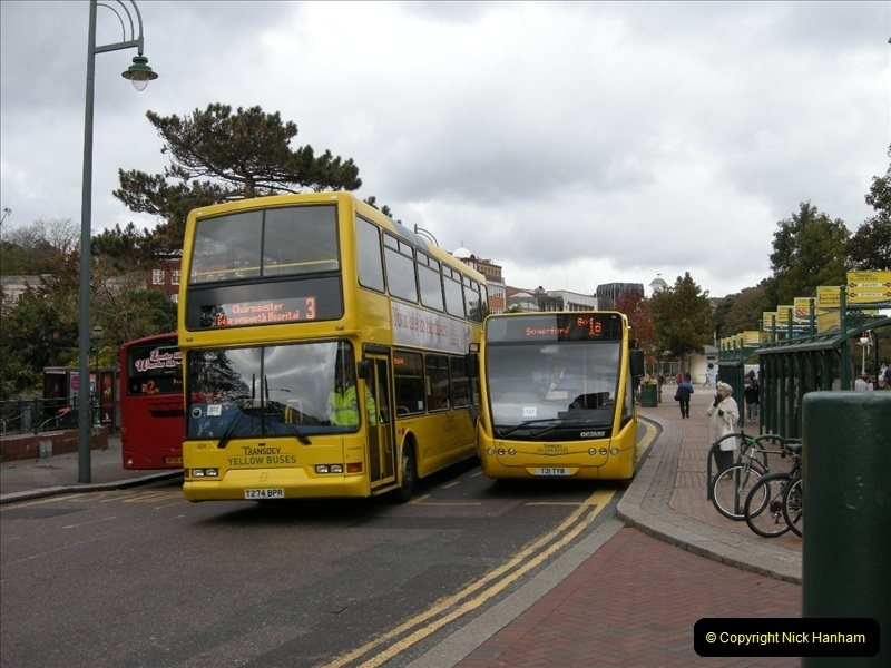 Yellow Buses Bournemouth, Dorset. 1963 to  2011. Picture 142333