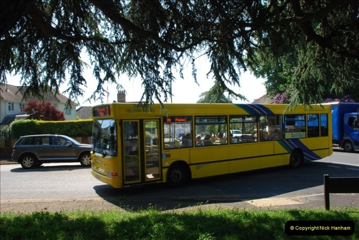 Yellow Buses Bournemouth, Dorset. 1963 to  2011. Picture 152343