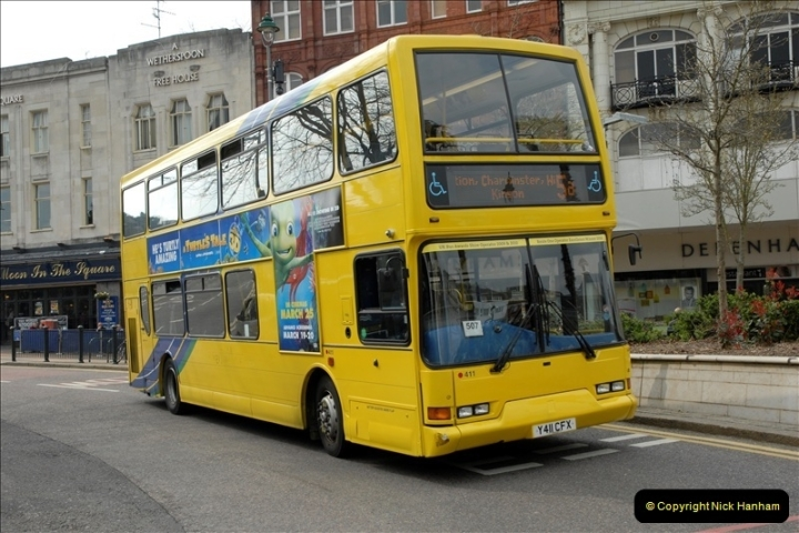 Yellow Buses Bournemouth, Dorset. 1963 to  2011. Picture 175366
