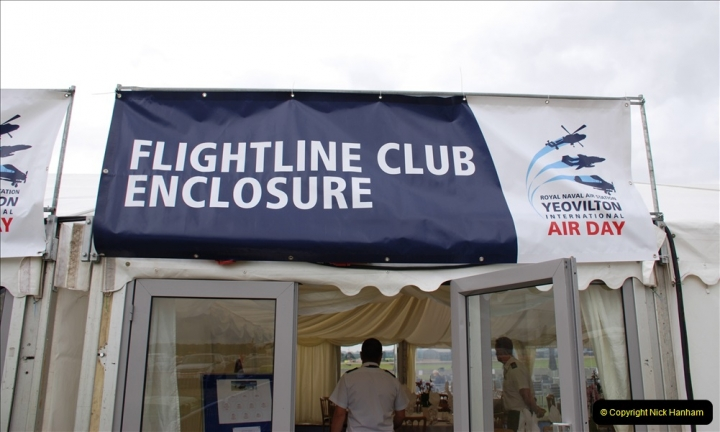 2019-07-13 Yeovilton Air Day. (10) Your Host treated himself to the top enclosure.