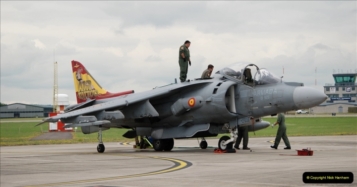 2019-07-13 Yeovilton Air Day. (129) Harrier.