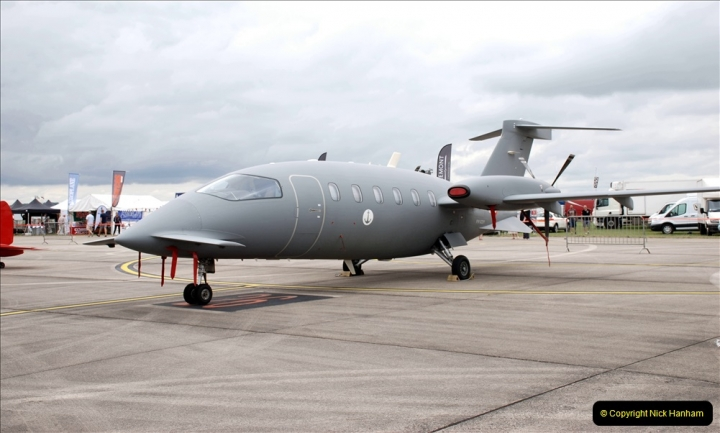 2019-07-13 Yeovilton Air Day. (139) P180M Avanti.