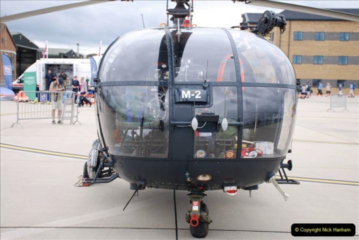 2019-07-13 Yeovilton Air Day. (163) Alouette 3.