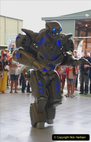 2019-07-13 Yeovilton Air Day. (210) The Robots are here.