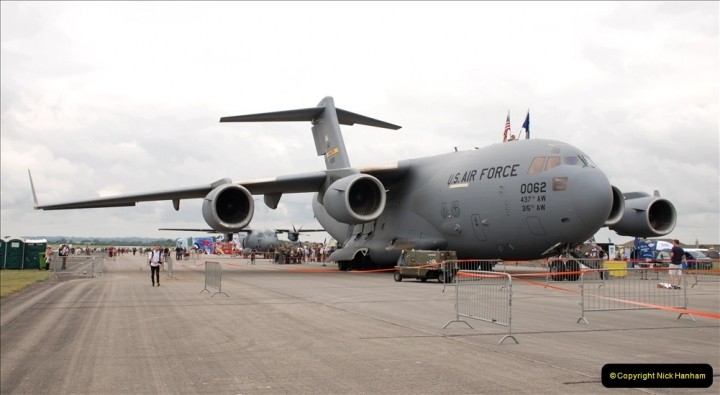 2019-07-13 Yeovilton Air Day. (23) Our regular visitor 17-A Globemaster 3 from the USA.