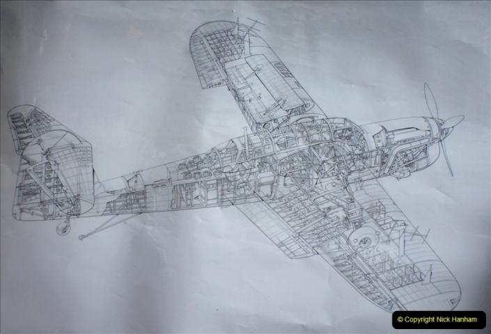 2019-07-13 Yeovilton Air Day. (264) Long term restoration project of Fairey Barracuda 2 DP872.