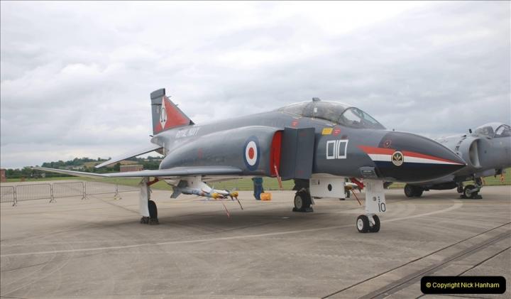 2019-07-13 Yeovilton Air Day. (282) McDonnel Douglas F-4 Phantom 4.
