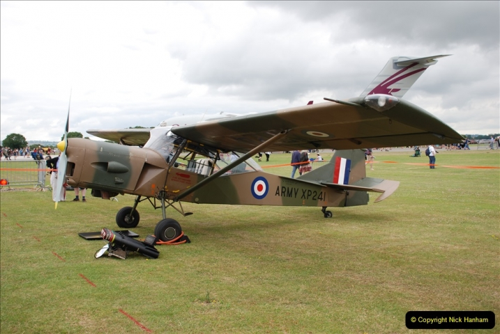 2019-07-13 Yeovilton Air Day. (291) Auster.