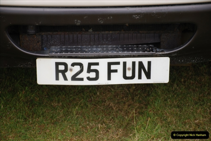 2019-07-13 Yeovilton Air Day. (299) A good registration number for a showman's vehicle.