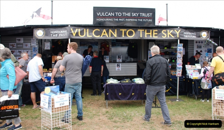 2019-07-13 Yeovilton Air Day. (349) Memories of XH553.