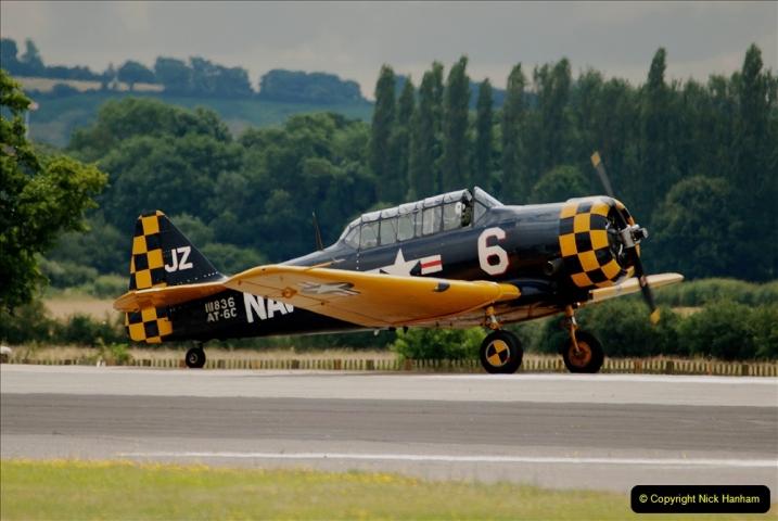 2019-07-13 Yeovilton Air Day. (405) AT-6 Harvard 11A.