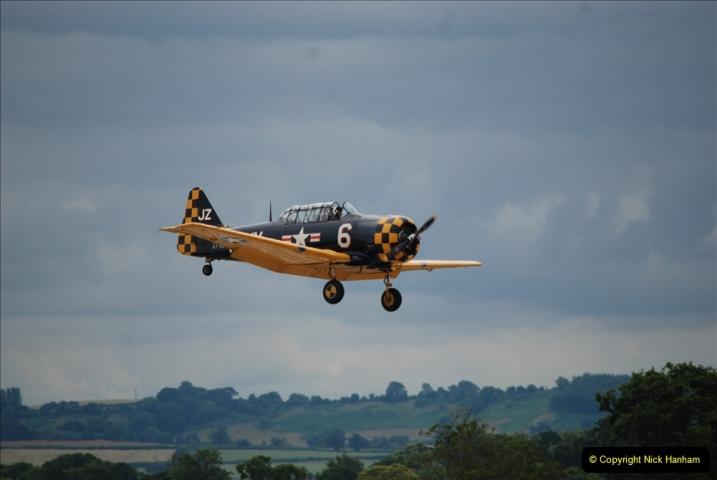 2019-07-13 Yeovilton Air Day. (408) AT-6 Harvard 11A.