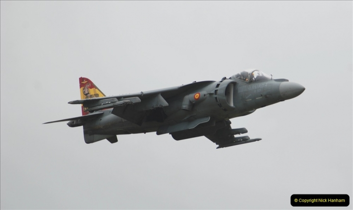 2019-07-13 Yeovilton Air Day. (458) EAV-8B Harrier 2 Plus.