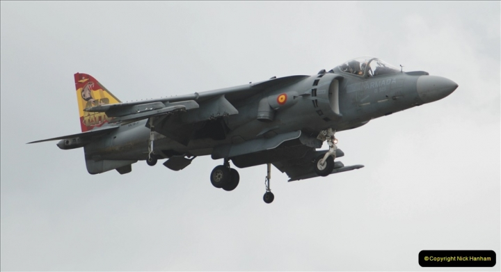2019-07-13 Yeovilton Air Day. (462) EAV-8B Harrier 2 Plus.