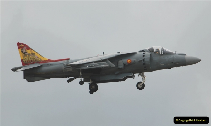 2019-07-13 Yeovilton Air Day. (463) EAV-8B Harrier 2 Plus.