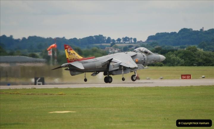 2019-07-13 Yeovilton Air Day. (468) EAV-8B Harrier 2 Plus.