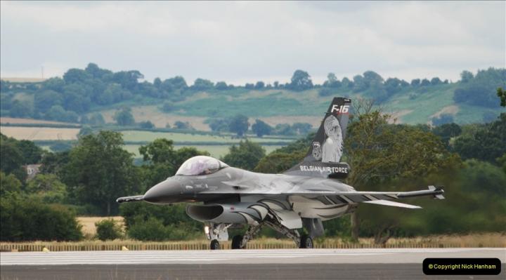 2019-07-13 Yeovilton Air Day. (489) F-16 Fighting Falcon.