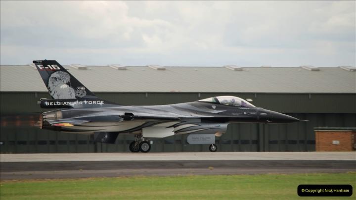 2019-07-13 Yeovilton Air Day. (492) F-16 Fighting Falcon.