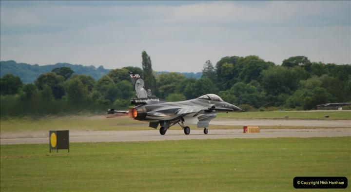 2019-07-13 Yeovilton Air Day. (493) F-16 Fighting Falcon.