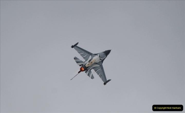 2019-07-13 Yeovilton Air Day. (494) F-16 Fighting Falcon.