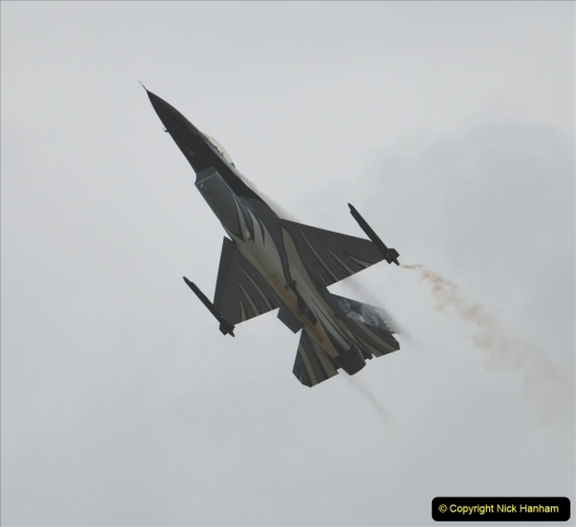 2019-07-13 Yeovilton Air Day. (496) F-16 Fighting Falcon.